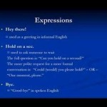 Amerikan İngilizcesi Ders 2