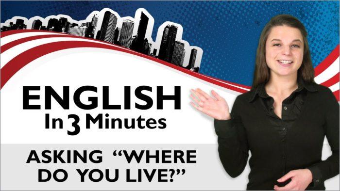 İngilizce Dersleri 06 Nerede Yaşıyorsun?