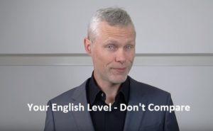 İngilizce seviyenizi geliştirmek için başkalarıyla kıyaslamayın